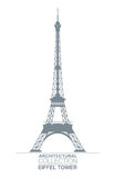 Eiffel Tower Drawing Royalty Free Stock Image