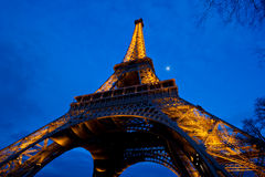 Eiffel Tower at Dusk Royalty Free Stock Photography