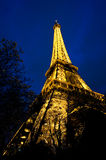 Eiffel Tower at Dusk Stock Photography