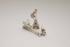 Eiffel tower earring Royalty Free Stock Photo