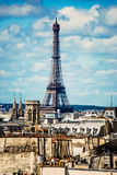 Eiffel tower. Effel Tower. See my other works in portfolio Royalty Free Stock Photos