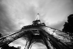 Eiffel Tower in the evening Royalty Free Stock Photography