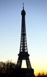 Eiffel Tower in the evening Stock Images