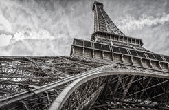 Eiffel Tower Extra Wide Stock Photography