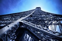 Eiffel tower fantasy picture Royalty Free Stock Photography