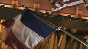 Eiffel Tower Flags stock video