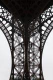 Eiffel Tower fragment Royalty Free Stock Photos
