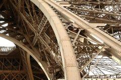 The Eiffel Tower framework . Stock Image