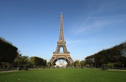 Eiffel Tower in France Stock Photo