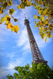 The Eiffel Tower, a global cultural icon of France Stock Image