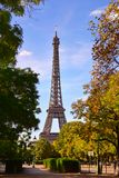 The Eiffel Tower, a global cultural icon of France Stock Photos