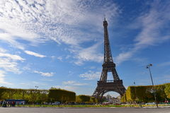 The Eiffel Tower, a global cultural icon of France Royalty Free Stock Photo