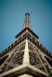 Eiffel tower from the ground Stock Images