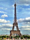 Eiffel Tower. The iconic eiffel tower in Paris, France royalty free stock images