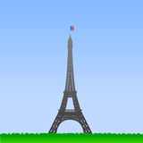 Eiffel Tower illustration Stock Images