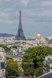 Eiffel Tower Invalides Paris France Royalty Free Stock Photography