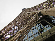 Eiffel Tower 2. The Eiffel Tower is an iron lattice tower located on the Champ de Mars in Paris. It was named after the engineer Gustave Eiffel, whose company Stock Photo