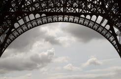 Eiffel Tower Ironwork Royalty Free Stock Photos