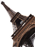 Eiffel tower isolated Stock Image