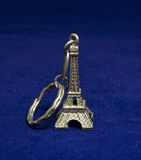 Eiffel Tower Keychain Stock Photo