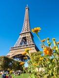 Eiffel tower is landmark in Paris Stock Image