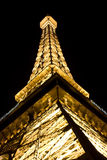 Eiffel Tower in Las Vegas royalty free stock photo