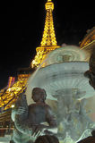 Eiffel Tower Las Vegas royalty free stock images