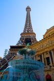 Eiffel Tower in Las Vegas Stock Photos