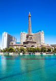 Eiffel Tower in Las Vegas Stock Image