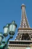 The Eiffel Tower in Las Vegas Nevada Stock Image