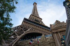 Eiffel Tower Las Vegas Stock Image