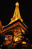 Eiffel Tower in Las Vegas. Is a smaller replica of the famous Paris landmark royalty free stock photos