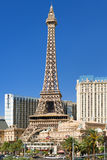 Eiffel Tower in Las Vegas in a summer day Royalty Free Stock Images