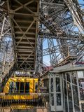 Eiffel Tower lift Royalty Free Stock Photos