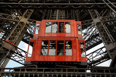 Eiffel Tower  - lift technology Stock Photos