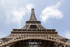Eiffel tower low angle Stock Photography
