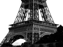 Eiffel Tower low angle view Royalty Free Stock Photo