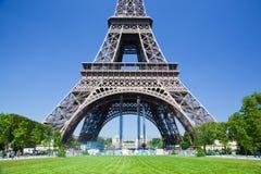 Eiffel Tower lower part, Paris, France Stock Photo