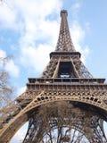 Eiffel tower during maintenance overhaul Stock Photography