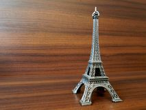 Eiffel Tower Miniature Stock Photo