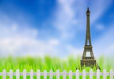 Eiffel Tower model Stock Photography
