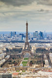 Eiffel tower from Montparnasse Royalty Free Stock Photography