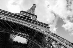 Eiffel Tower, the most popular landmark of Paris Stock Photos