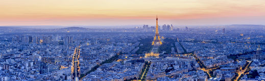 The Eiffel tower is the most visited monument of France. Stock Image