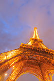The Eiffel tower is the most visited monument of France. Royalty Free Stock Images