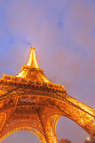 The Eiffel tower is the most visited monument of France. Stock Photos