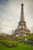 Eiffel Tower from nearby Park Royalty Free Stock Image