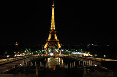 PARIS BY NIGHT Stock Photo