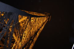 Eiffel Tower by night, Paris Stock Photography