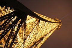 Eiffel Tower by night, Paris Royalty Free Stock Images